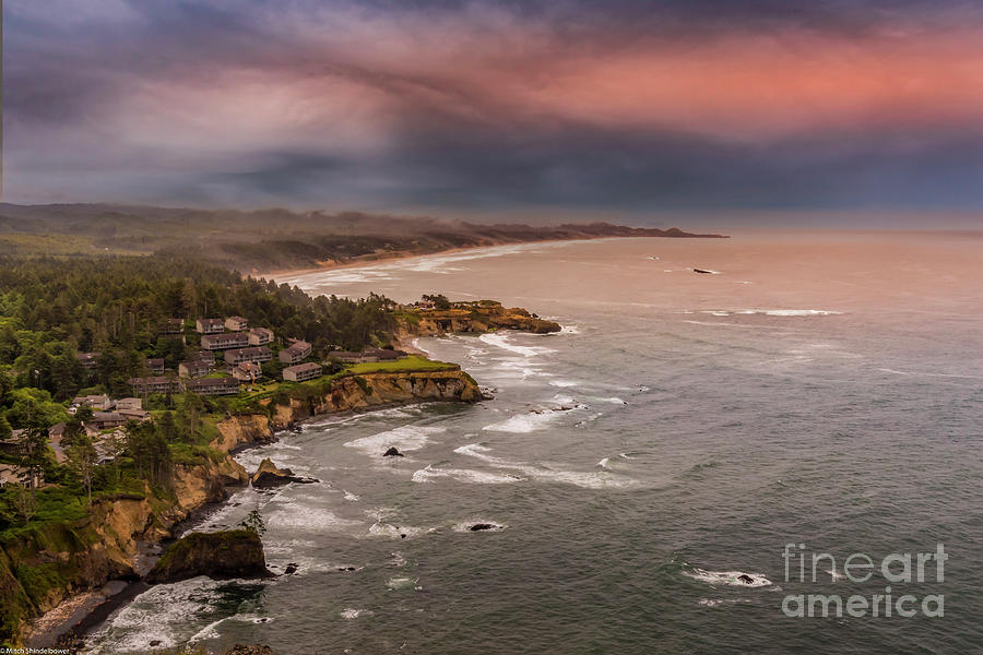 Otter Crest Scenic View Point Photograph