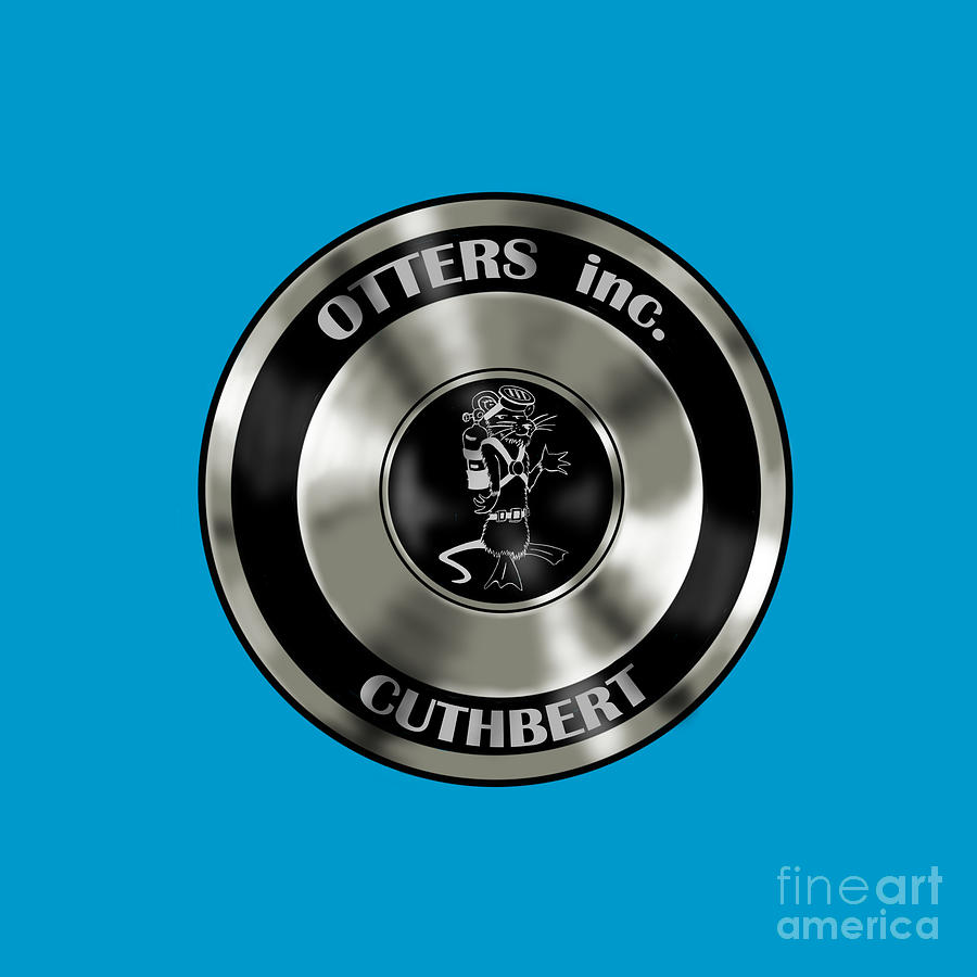 Regulator Digital Art - Otters inc Regulator by Robert Fenwick May Jr