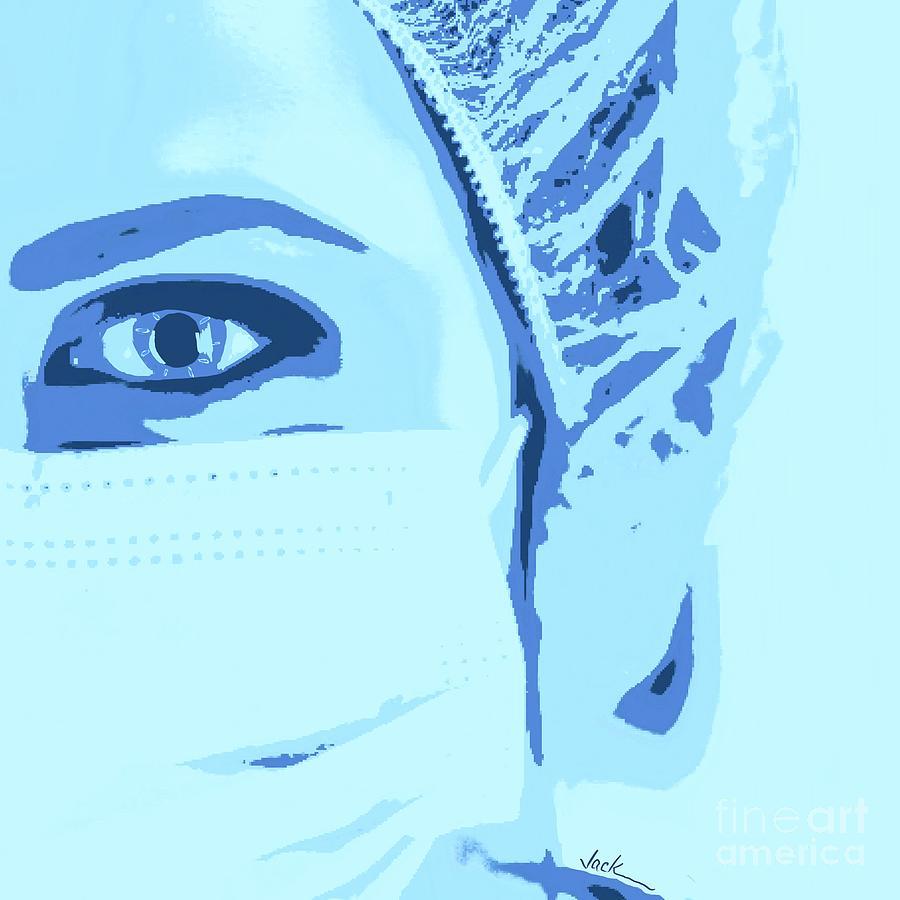 Nurse Painting - Our Heroes by Jack Bunds