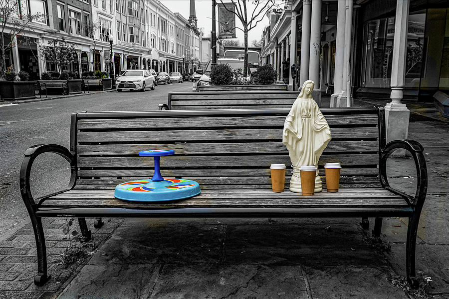 Our Lady of the Bench by Tom Romeo