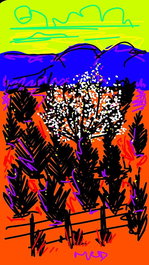 Out of Oklahoma Digital Art by Madeline Dillner