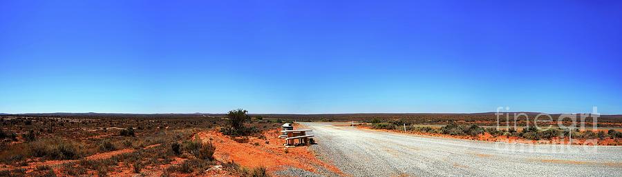 Outback Australia Desert Panorama By Kaye Menner Photograph