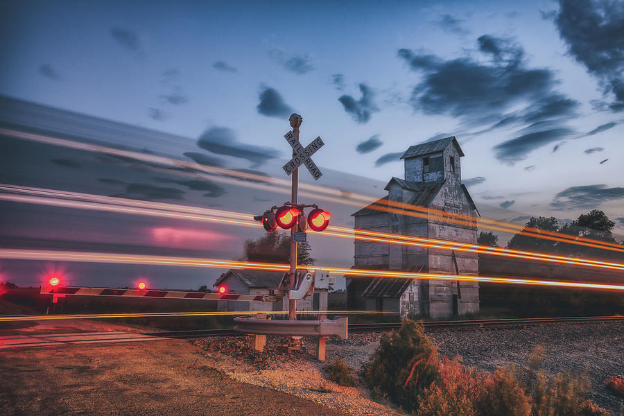 Outbound Train by Darren White