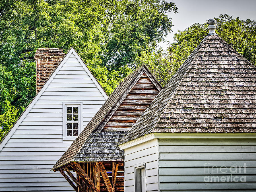 Outbuildings Roof Lines Photograph