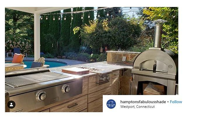 Outdoor Kitchen Countertop Pizza Oven Digital Art By Fontana Forni Usa