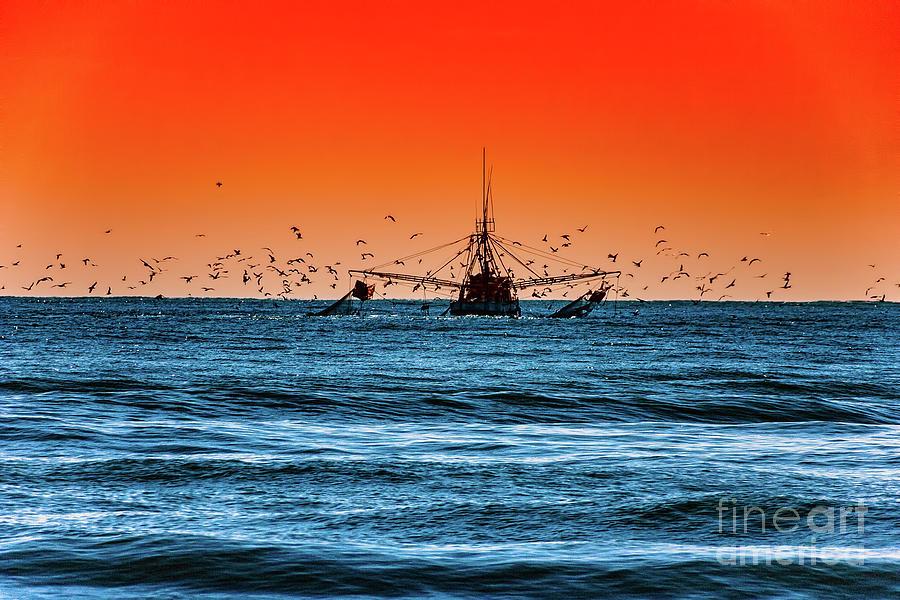 Outer Banks Trawler by Dan Carmichael