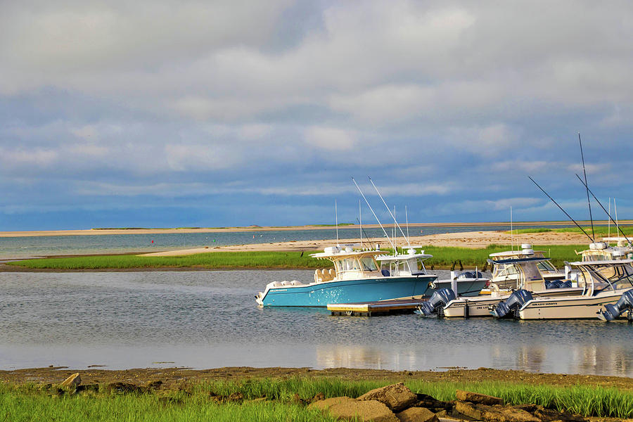 Outermost Harbor Morning No. 2 by Marisa Geraghty Photography