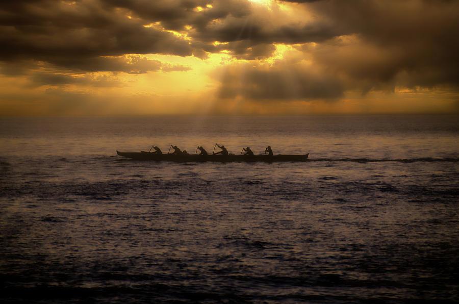 Outrigger Sunset Kaanapali Photograph