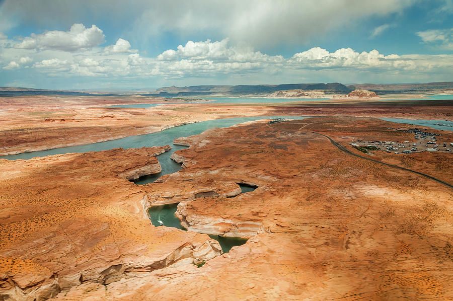 Over Lake Powell Inlets by Rob Hemphill