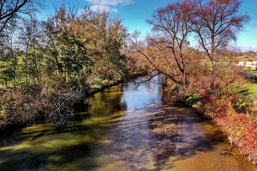 Over the Clinton River DJI_0359 by Michael Thomas