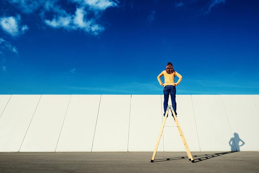 Overcome adversity Photograph by Ferrantraite