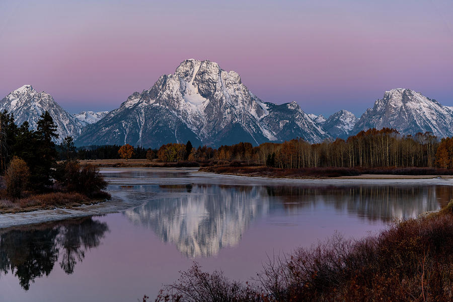 Oxbow Bend - Grand Teton National Park by Philip Rodgers