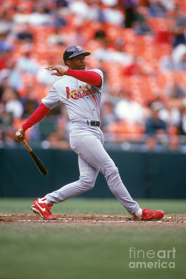 Ozzie Smith Photograph by Don Smith