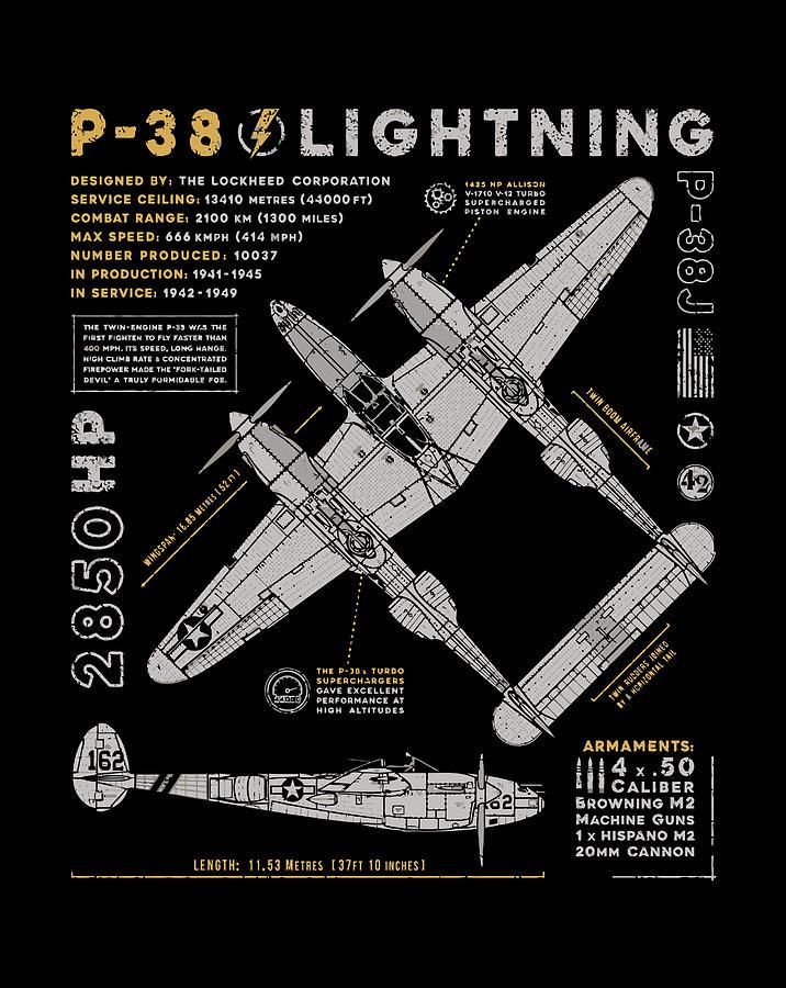 P-38 Lightning 3 Photograph by Ramabhadran Thirupattur