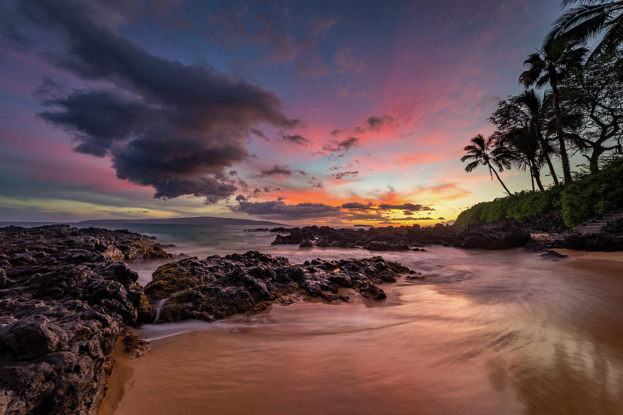 Paako Beach One Of The Most Picturesque Beach On Maui Photograph