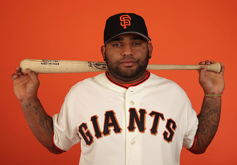 Pablo Sandoval Photograph by Christian Petersen