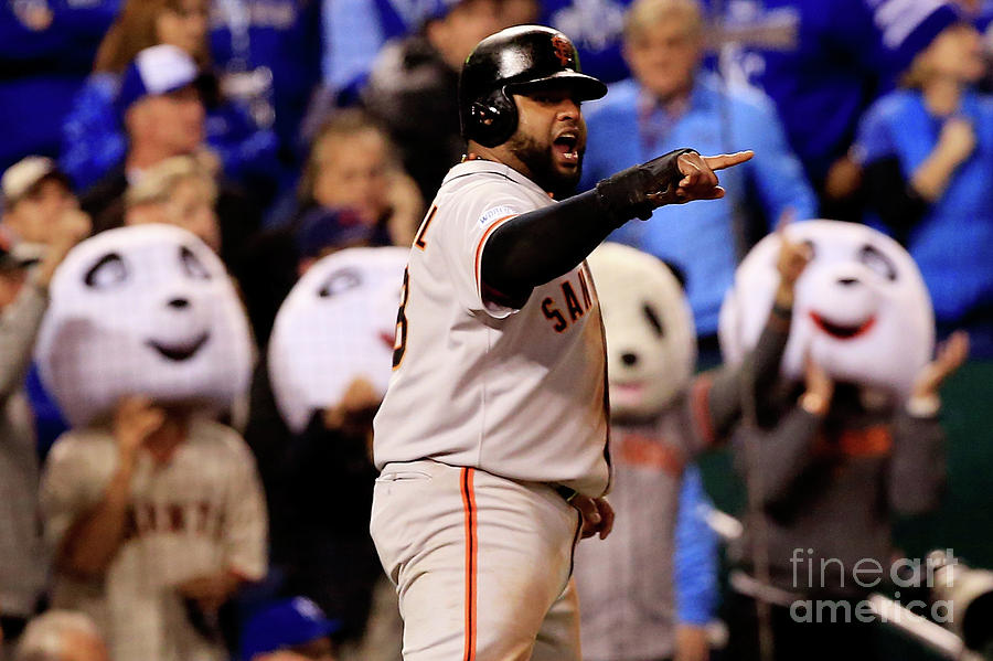 Pablo Sandoval Photograph by Jamie Squire