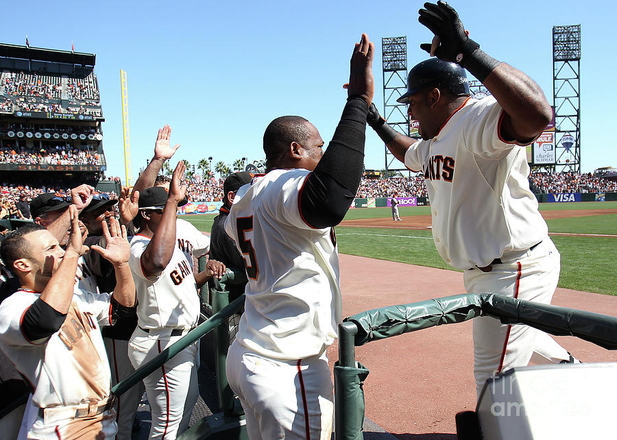 Pablo Sandoval Photograph by Jed Jacobsohn