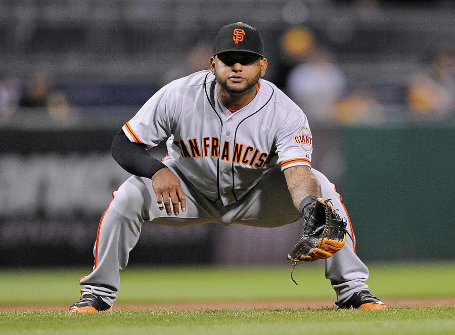 Pablo Sandoval Photograph by Joe Sargent