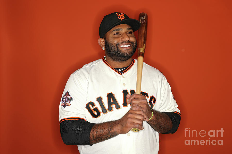 Pablo Sandoval Photograph by Patrick Smith