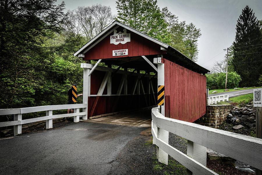 Packsaddle Bridge Entrance Photograph