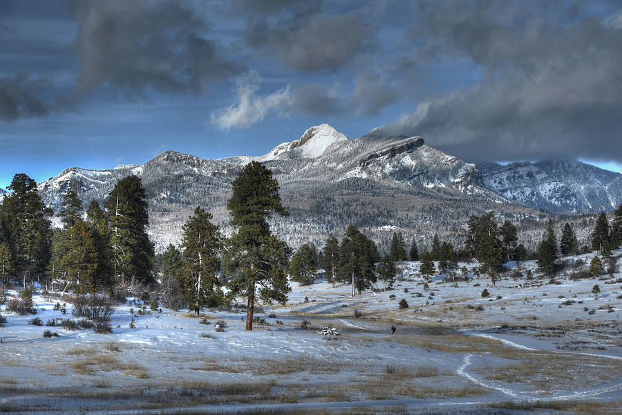 Pagosa Springs Co Photograph - Pagosa Peak After The Storm by Mark Langford