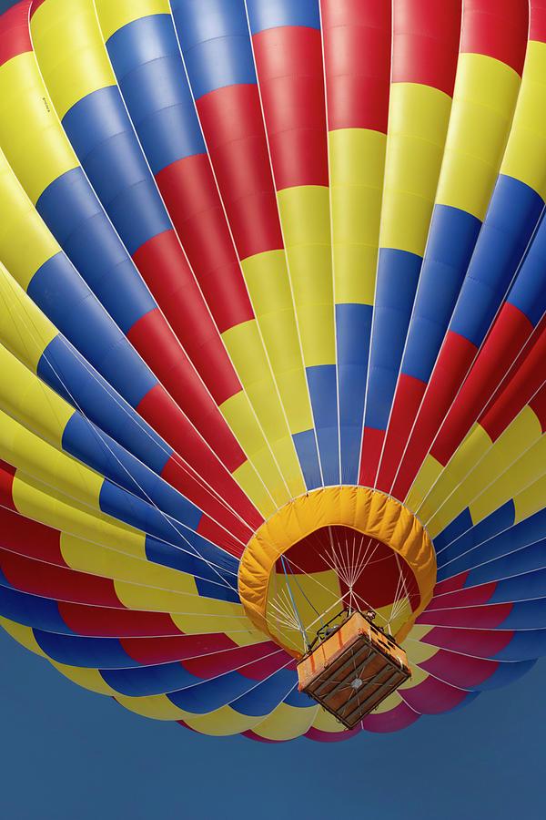 Hot Air Balloons Photograph - Pagosa Springs Balloon Fest-2 1-26-20 by Mark Langford