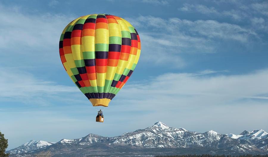 Hot Air Balloons Photograph - Pagosa Springs Balloon Fest-5 by Mark Langford