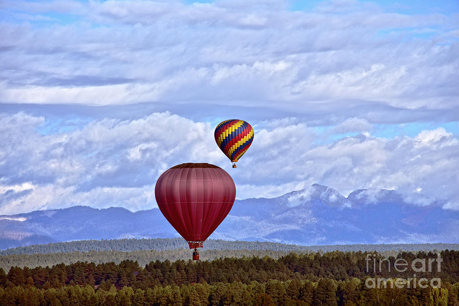 Pagosa Springs Balloons by Catherine Sherman