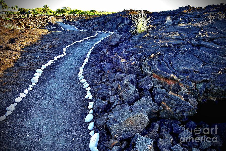 Pahoehoe Path Photograph