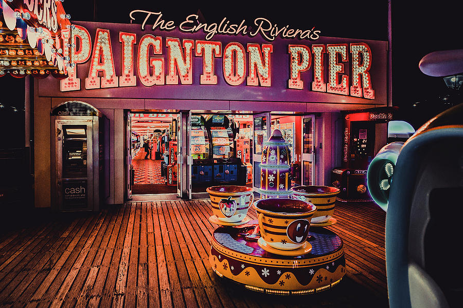 Paignton Pier, Devon, UK by Maggie McCall