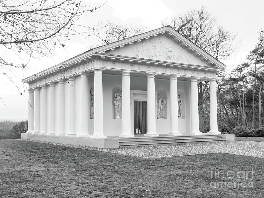 Painshill, Cobham, England, Greek Folly by Richard Jemmett