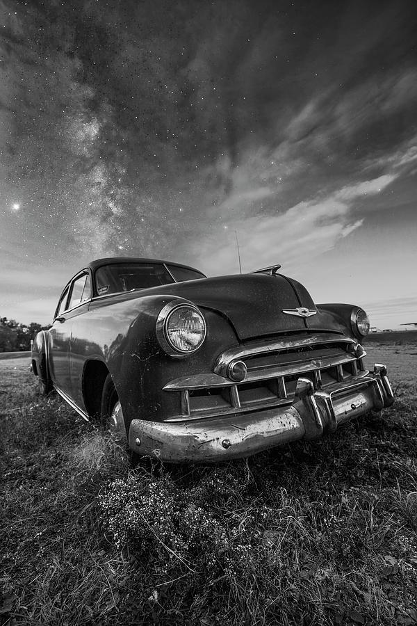 Milky Way Photograph - Paint It Black by Aaron J Groen