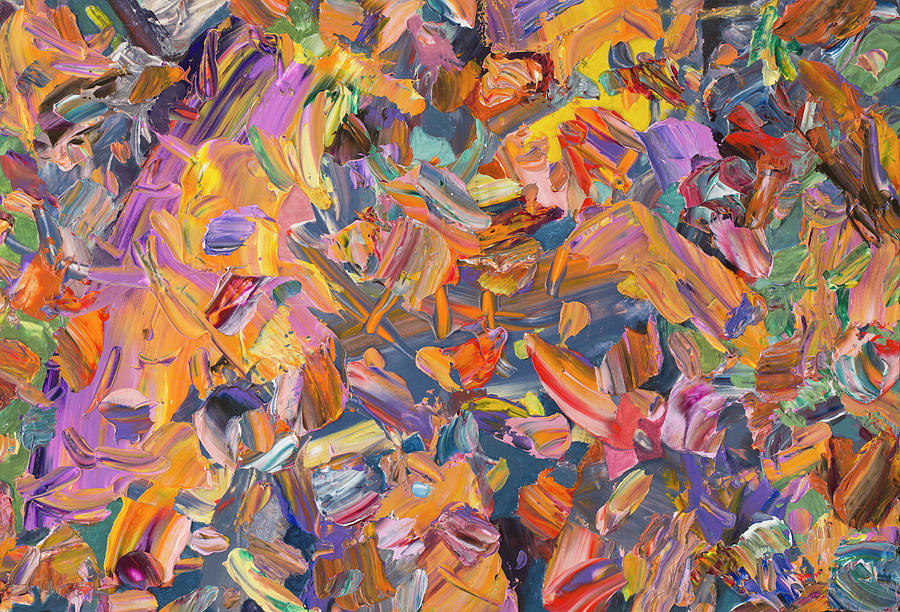 Painterly Painting - Paint number 65 by James W Johnson