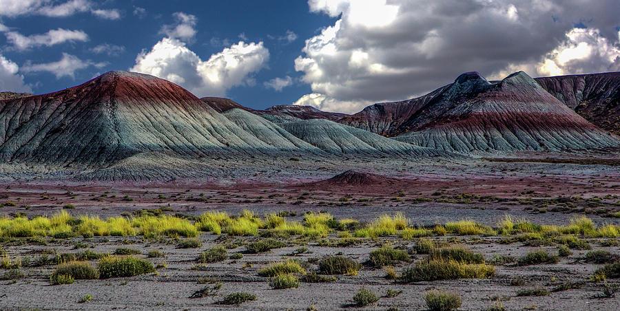 Arizona Photograph - Painted Desesrt , Arizona by Paul Malen