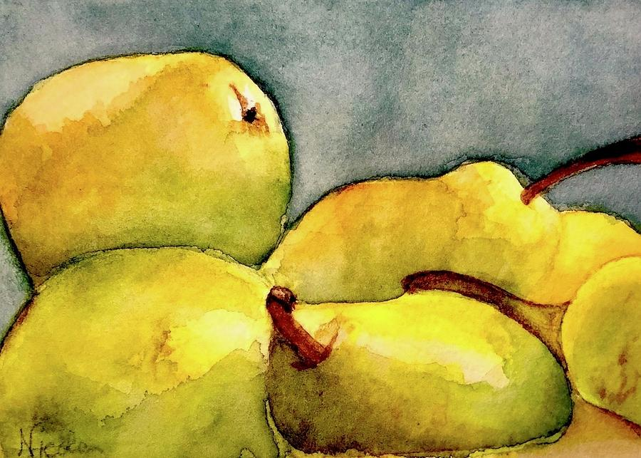 Pairs Of Pears Painting