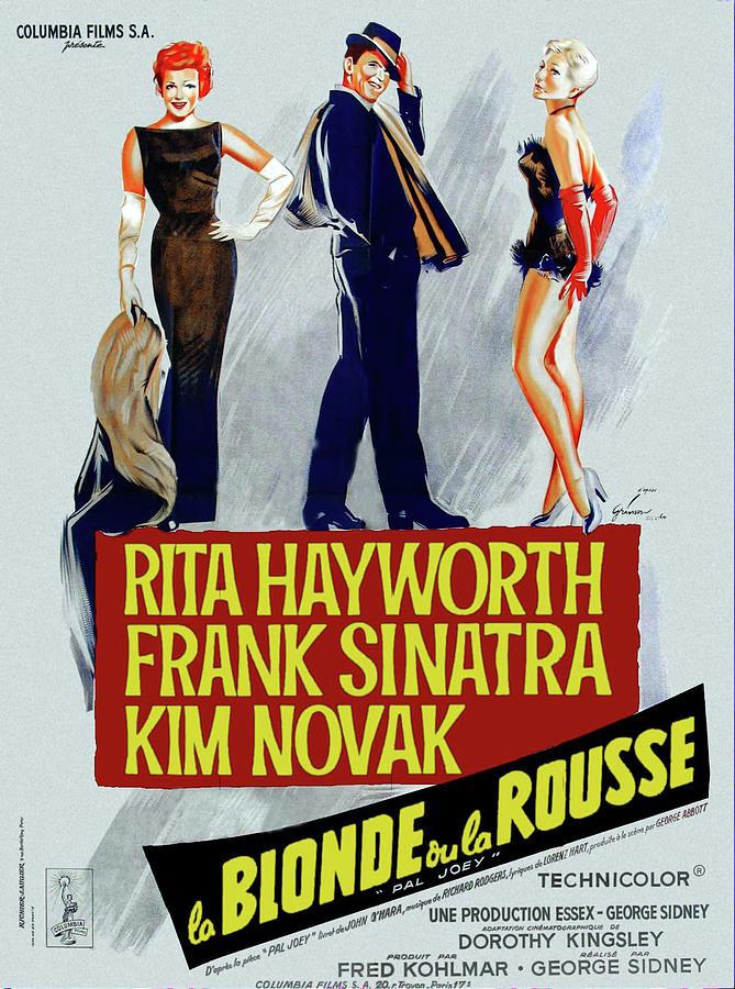 pal Joey, With Rita Hayworth And Frank Sinatra, 1957 Mixed Media