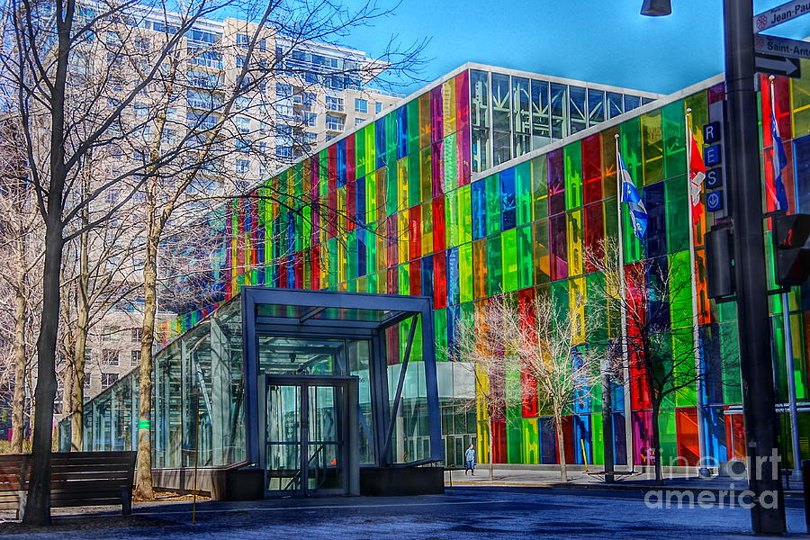 Palais Des Congres Montreal Photograph By Costa Pi