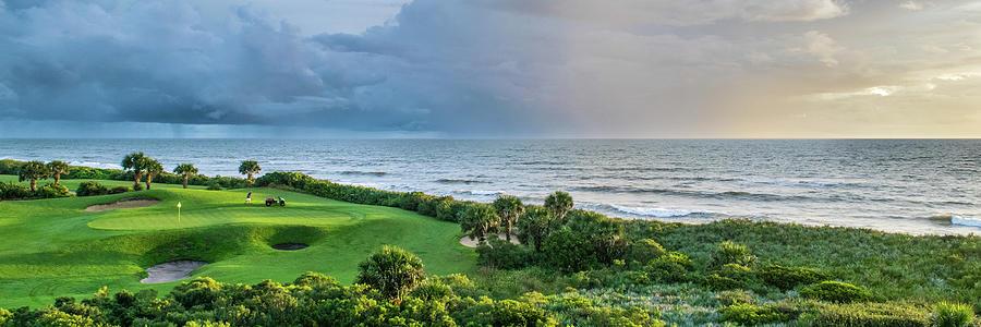 Palm Coast Panorama Photograph