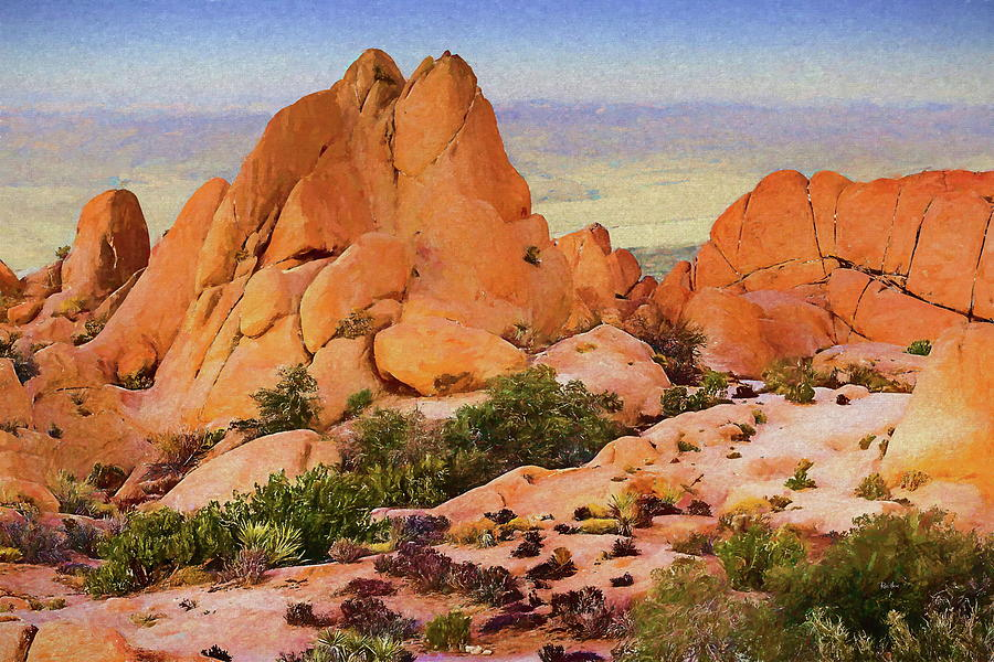 Palm Springs High Desert Painting
