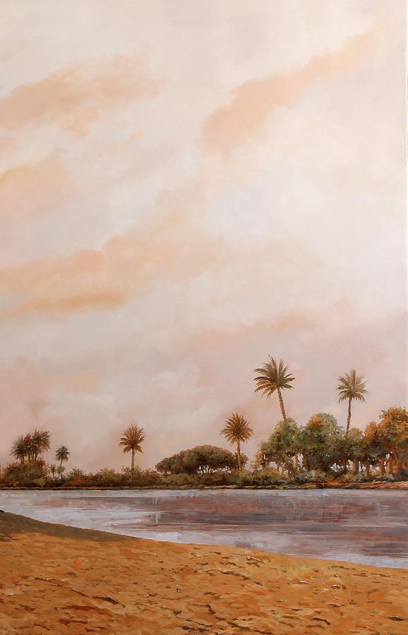 palme sul Nilo Painting