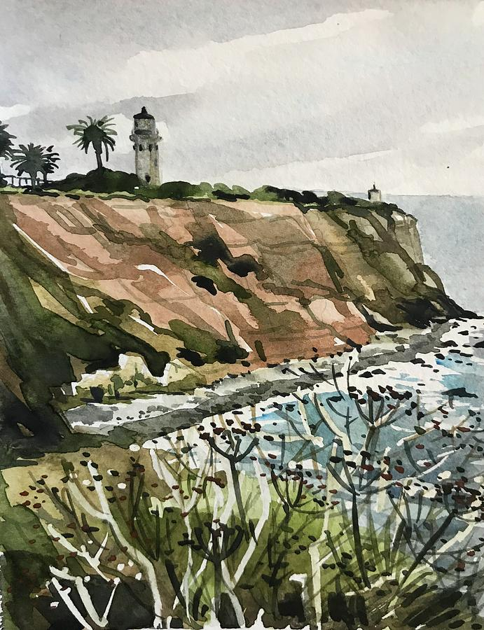 Palos Verdes Lighthouse Painting