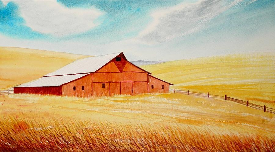 Palouse Air Painting