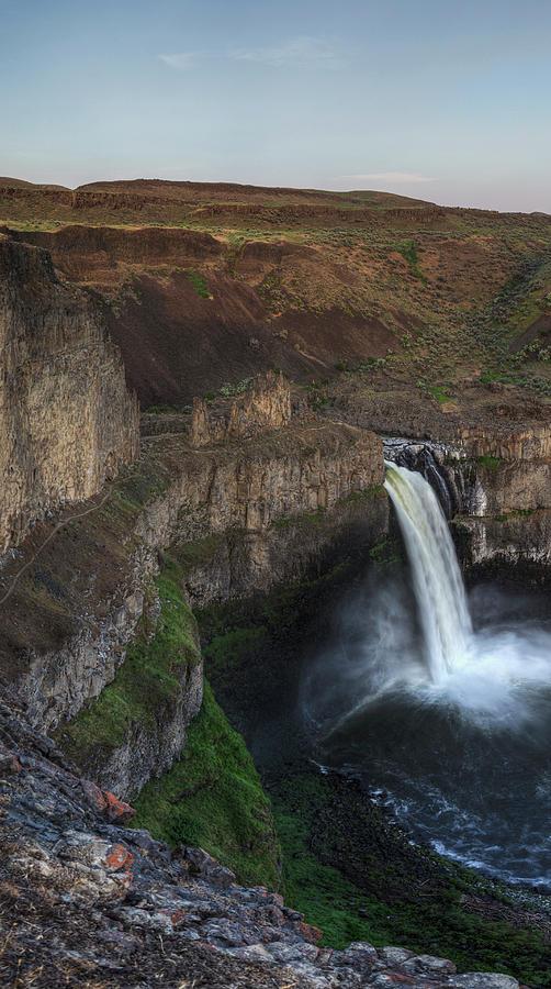 Palouse Falls Triptych 1 by Mark Kiver