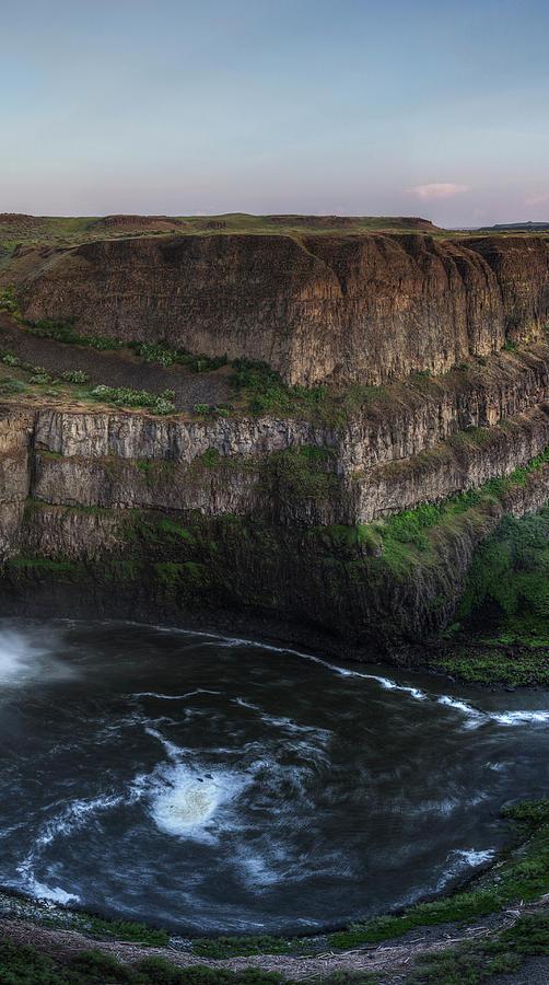 Palouse Falls Triptych 2 by Mark Kiver