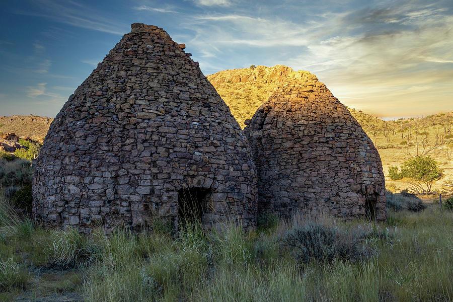 Panaca Photograph - Panaca Charcoal Kilns by James Marvin Phelps