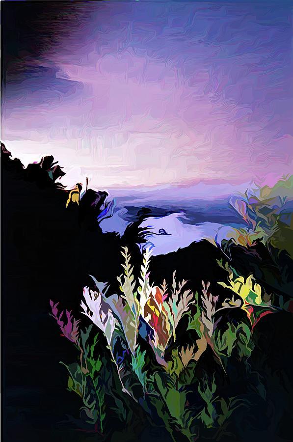 Panguna Mountain Climb Bougainville Island by Joan Stratton