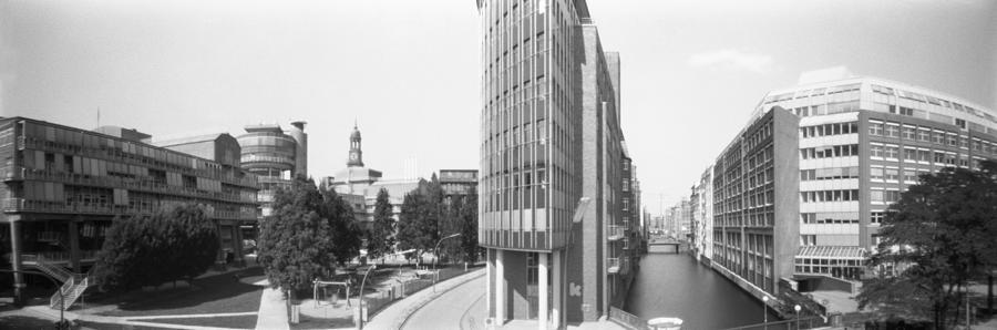 Panorama Of Hamburg - Germany Xx Photograph