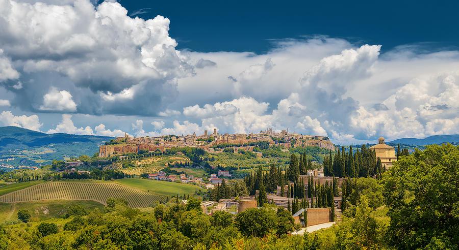Panorama Orvieto Photograph by Alexander Gutkin