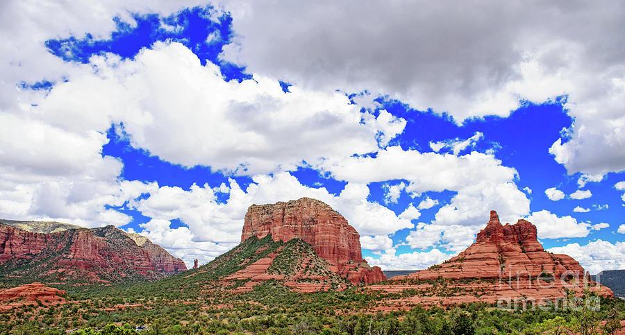 Panoramic Clouds Photograph